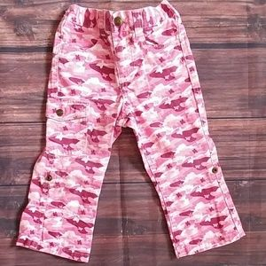 Other - Girls Pink Camo Butterfly Pants